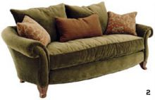 Oval kanepe